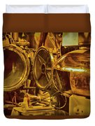 Torpedo Chamber Uss Bowfin Duvet Cover