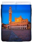 Torre Del Mangia Duvet Cover