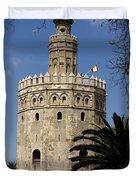 Torre Del Oro Duvet Cover