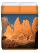 Torres Del Paine Duvet Cover