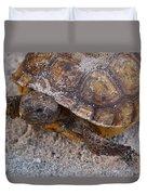 Tortoise By Nature Duvet Cover