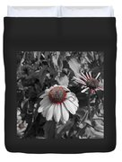 Touch Of Red Invite Duvet Cover