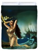 Touch Of The Beautiful Temptress Duvet Cover