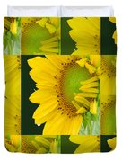 Touch Of Yellow  Duvet Cover