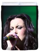 Touching Vocals Duvet Cover
