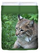Tough Cat Duvet Cover