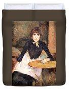 Toulouse Lautrec's A La Bastille -- Jeanne Wenz Duvet Cover by Cora Wandel