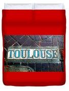 Toulouse Street Duvet Cover