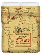 Tour De France 1914 Duvet Cover