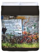 Tour De India Duvet Cover