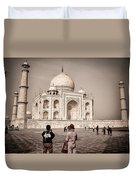 Touring The Taj Duvet Cover