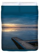 Towards The Light Duvet Cover