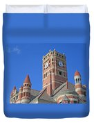 Tower And Turrets Duvet Cover