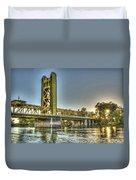 Tower  Bridge 2 Sacramento Duvet Cover