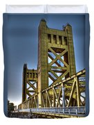 Tower Bridge 4 Sacramento Duvet Cover