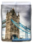 Tower Bridge And The Shard Duvet Cover