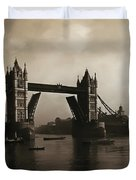 Tower Bridge London 1906 Duvet Cover