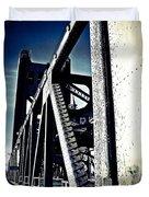 Tower Bridge - Throwback Duvet Cover
