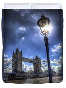 Tower Bridge View Duvet Cover