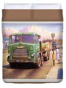 Tower Hill Transport. Duvet Cover