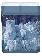 Tower In Margerie Glacier Duvet Cover