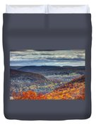 Tower In The Distance Duvet Cover