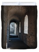 Tower In The Great Wall 695 Duvet Cover