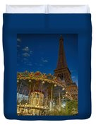 Carousel Tower Duvet Cover