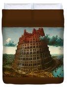 Tower Of Bable Duvet Cover