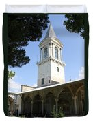 Tower Of Justice - Topkapi Palace - Istanbul Duvet Cover