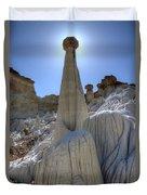 Tower Of Silence Duvet Cover