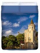 Tower Of St. Sebastian II Duvet Cover