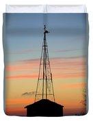 Tower Sunrise Duvet Cover