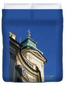 Tower Vienna Austria Duvet Cover