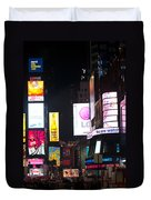 Towering Ads Duvet Cover