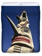 Towering Totem Duvet Cover