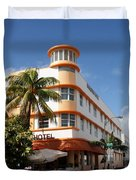 Towers Hotel - Miami Duvet Cover