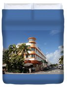 Towers Hotel - Miami Duvet Cover