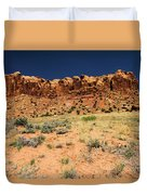 Towers To The Needles Duvet Cover