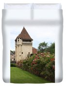 Town Gate - Nevers  Duvet Cover