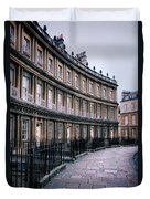 Town Houses Duvet Cover
