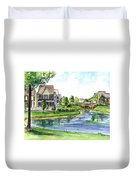 Towne Center Duvet Cover