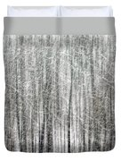 C And O Towpath Blizzard Duvet Cover