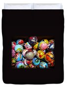 Toy Balls Duvet Cover