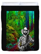 Toy Caldwell In The Woods Duvet Cover