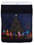 Christmas Toys Duvet Cover