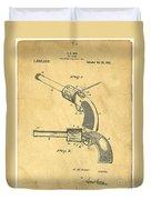 Toy Pistol Circa 1920s Duvet Cover