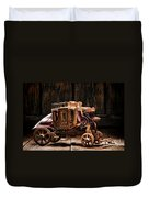 Toy Stagecoach Duvet Cover