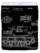 Toy Tank Duvet Cover