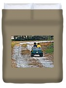 Toy Truck Riders Duvet Cover